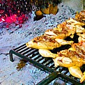 "the ""polastrel"", famous grilled specialty of the area